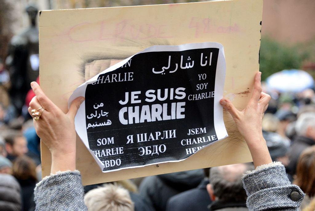Demonstracja solidarności z ofiarami zamachu na redakcję 'Charlie Hebdo' (fot. Jwh/Wikipedia Luxembourg/Wikimedia Commons/CC BY-SA 3.0 lu)