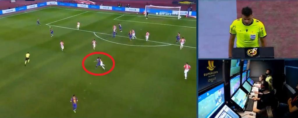 Czerwona kartka dla Lionela Messiego