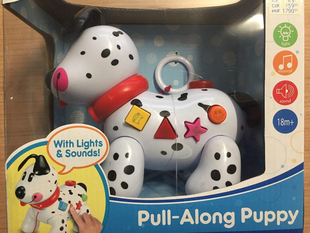 Wycofany ze sprzedaży piesek zabawka z Pepco