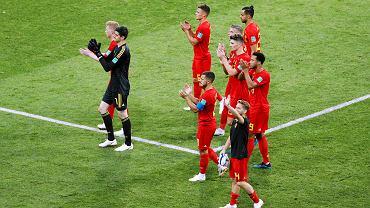 Radość piłkarzy Belgii
