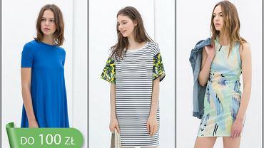 Sukienki Zara do 100 zł