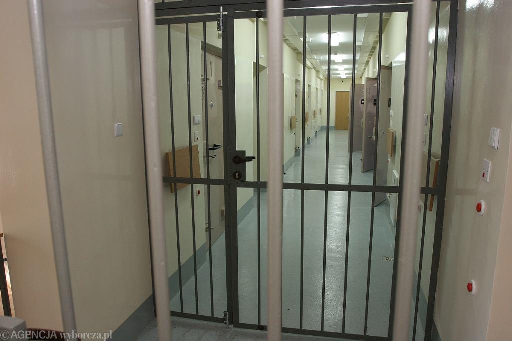 Policyjna izba zatrzymań (zdj. ilustracyjne)