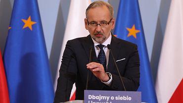 Adam Niedzielski: Plan odbudowy zdrowia Polaków obejmie pięć elementów