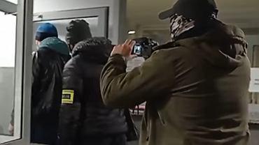 Moment zatrzymania właściciela klubu w Rybniku