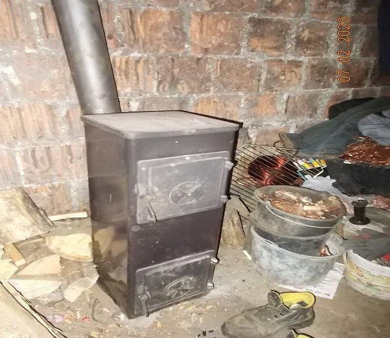 Efekty kontroli Strażników Miejskich w jednym z domów w Rembertowie.