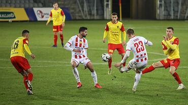 Kielce, 28.11.2020. Fortuna 1 Liga: Korona Kielce - Resovia 1:0