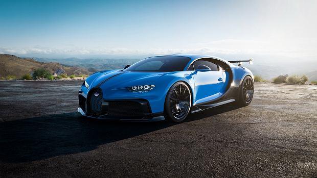 Bugatti Chiron Pur Sport. Lżej, szybciej i sztywniej