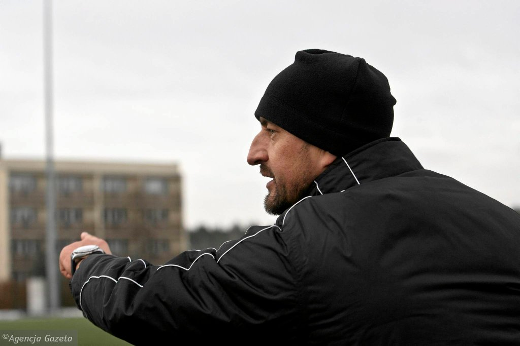 Trener Zbigniew Smółka
