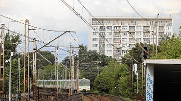 Rejon stacji PKP Powiśle