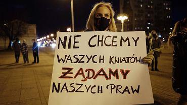 Strajk Kobiet w Częstochowie, 8 marca 2021 r.