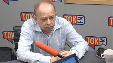 Prof. Wojciech Sadurski w studiu TOK FM.
