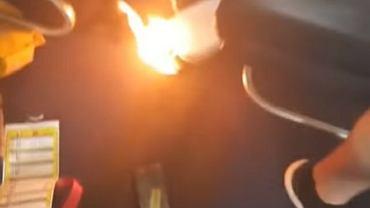 Pożar powerbanka na pokładzie samolotu Ryanair