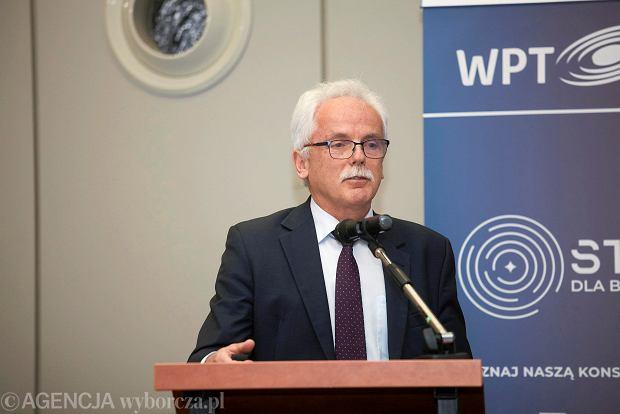 Nagrodę dla instytucji wsparcia biznesu odebrał Stanisław Huskowski, wiceprezes Wrocławskiego Parku Technologicznego