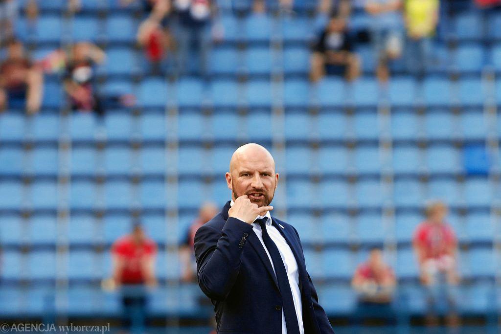 Maciej Stolarczyk, trener Wisły Kraków