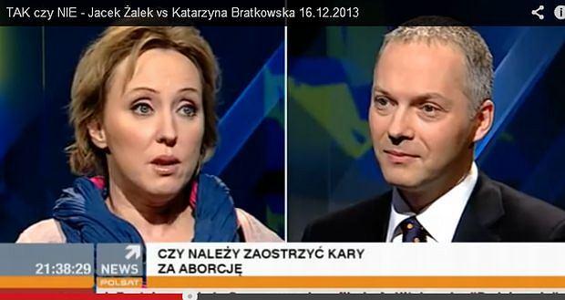 Katarzyna Bratkowska, Jacek Żelak.