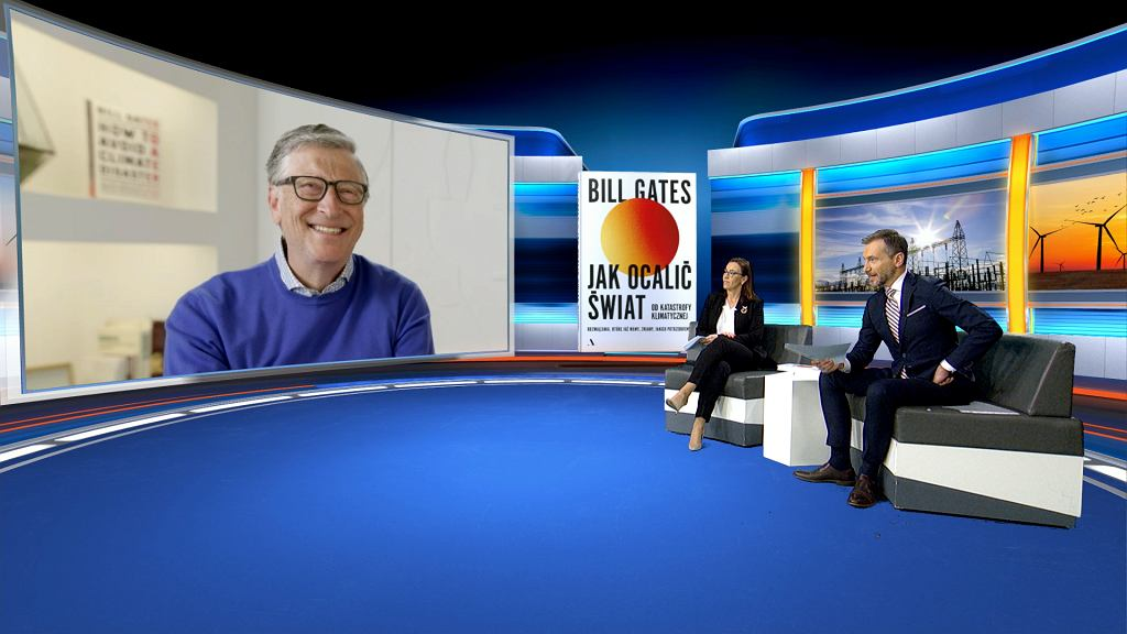 Jedyny w Polsce, ekskluzywny wywiad z Billem Gatesem!, Redakcja Wideo