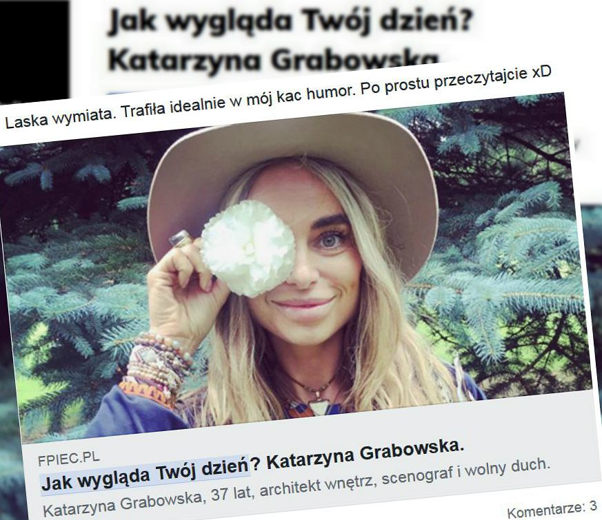 Katarzyna Grabowska - bohaterka materiału 'F5'