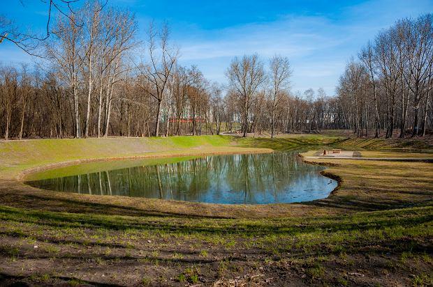 Zdjęcie numer 4 w galerii - Park Tysiąclecia w Sosnowcu w trakcie rewitalizacji.