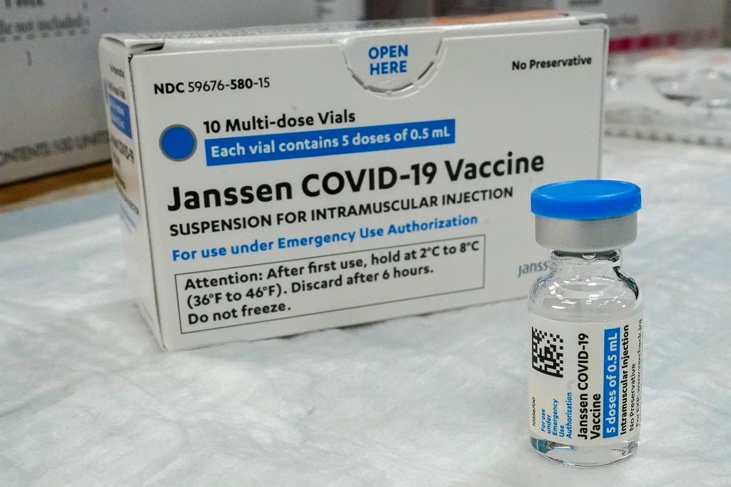 Szczepionka przeciw Covid-19 firmy Johnson & Johnson