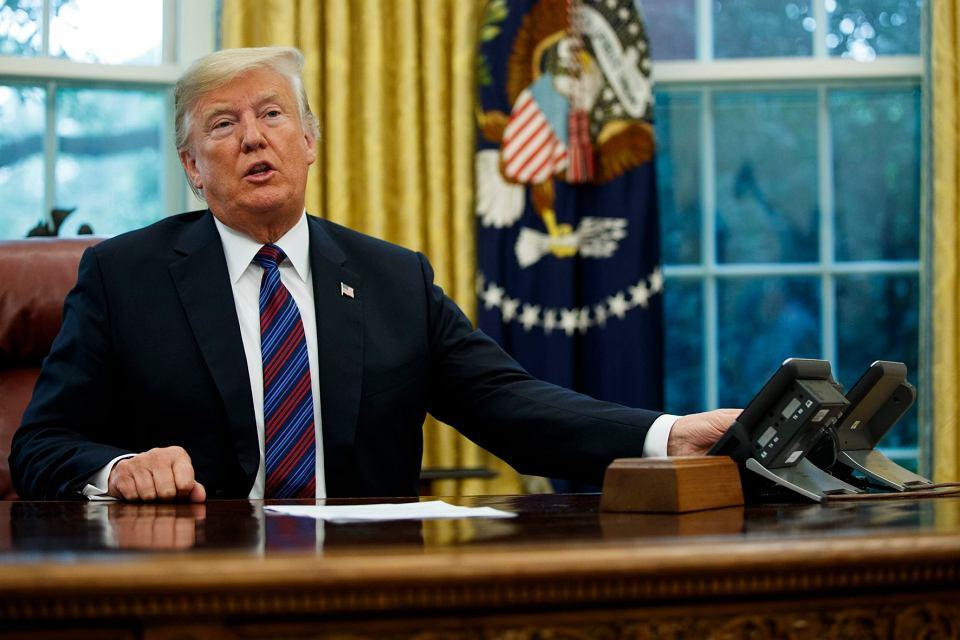 27 sierpnia Trump ogłosił w Gabinecie Owalnym, że ma nową umowę handlową z Meksykiem