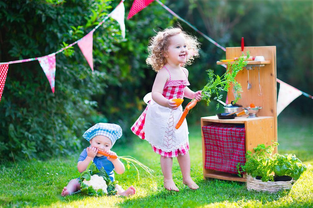 Zabawki do ogrodu dla dzieci w różnym wieku. Sprawdź top listę rodziców. Zdjęcie ilustracyjne