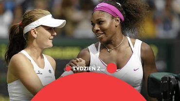 Agnieszka Radwańska i Serena Williams