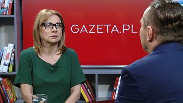 Prof. Ewa Marciniak gościem rozmowy w Gazeta.pl