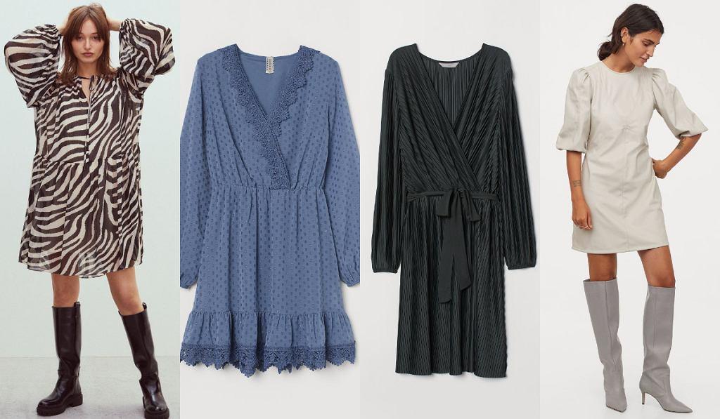 H&M sukienki wyprzedaż wiosna 2021