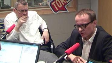 """Marcin Piasecki i Bartłomiej Radziejewski w """"Poranku Radia TOK FM"""""""