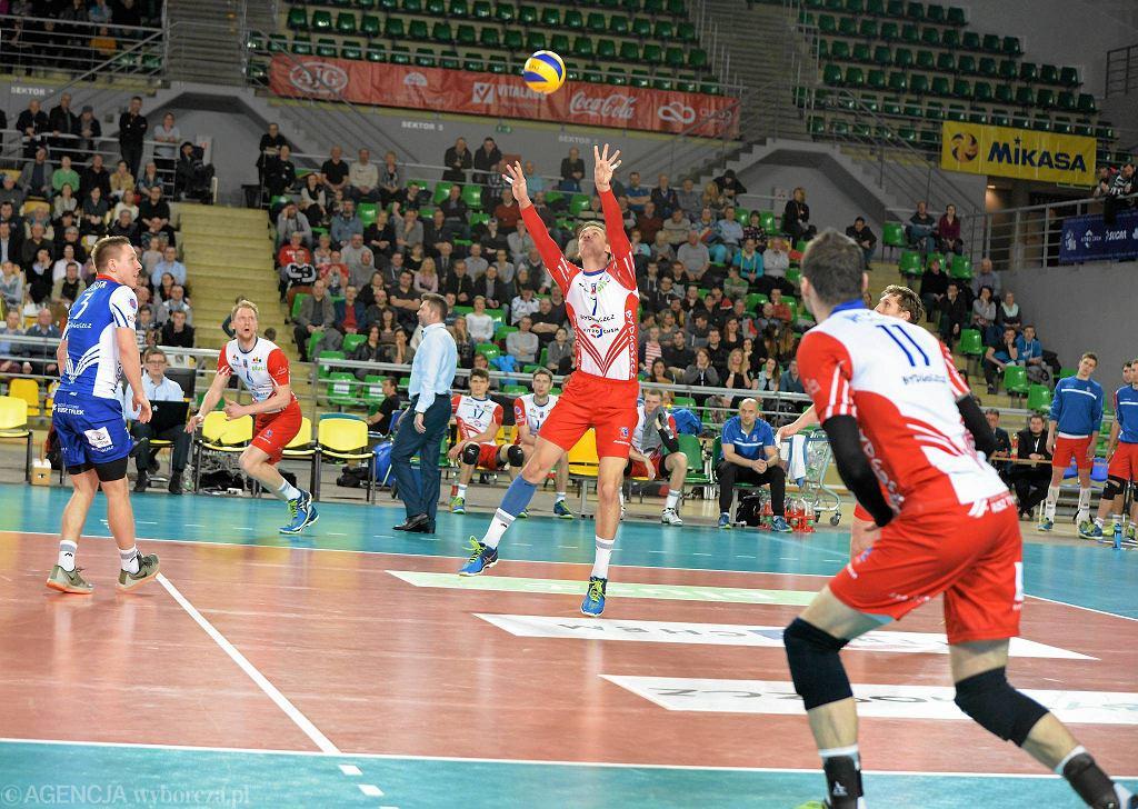Mecz Łuczniczka - Lotos Trefl 0:3