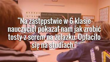 Pod hasztagiem #MyTeacherIsWeird internauci dzielą się wpisami o nietypowych zachowaniach swoich nauczycieli