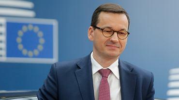 20.06.2019,  premier Polski Mateusz Morawiecki na szczycie Unii Europejskiej w Brukseli.