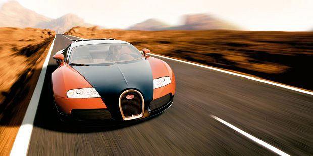 : boskie automobile, logo z klasą, samochody, Veyron Super Sport rekordzista prędkości - 431,07 km/h