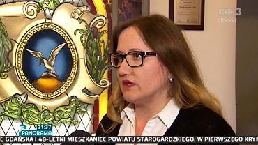 Anna Dyksińska w materiale 'Panoramy' TVP Gdańsk