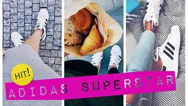 Adidas SuperStar- zobacz jak się nosi kultowe buty
