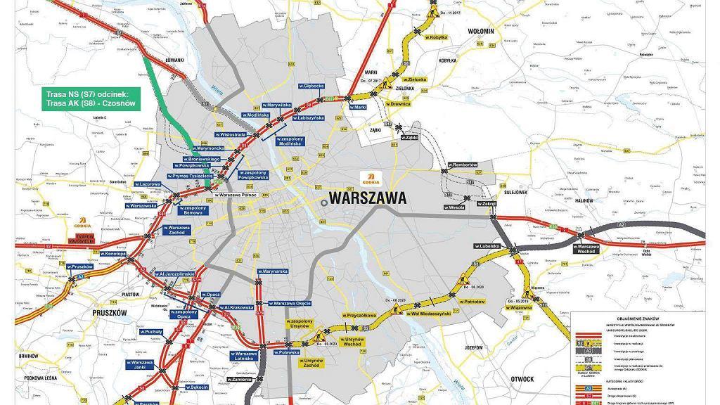Protest w sprawie budowy wylotówki na Gdańsk