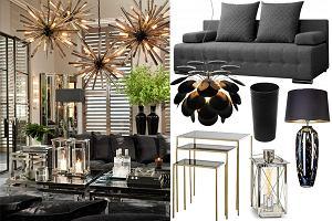 Zimowy wypoczynek w stylu glamour. Elegancki salon może być przytulny!