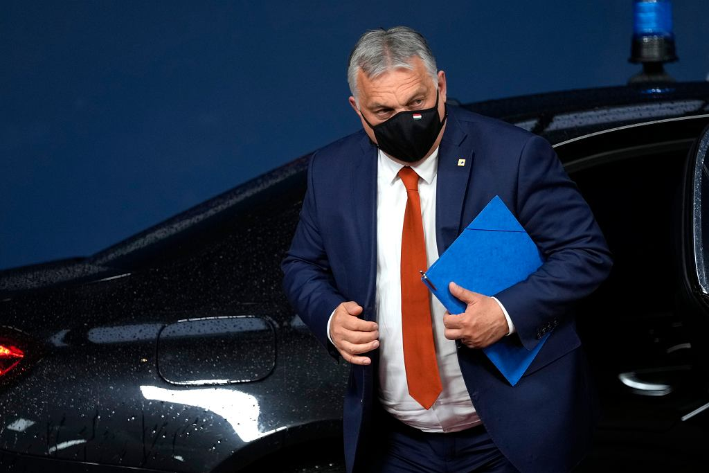Viktor Orban, premier Węgier.