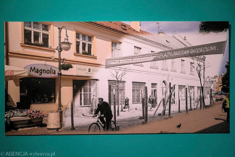 Zdjęcie numer 1 w galerii - Stare zdjęcia Rzeszowa wkomponowane we współczesne. Nietypowa wystawa! [ZOBACZ]