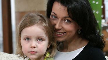 Katarzyna Pakosińska z córką