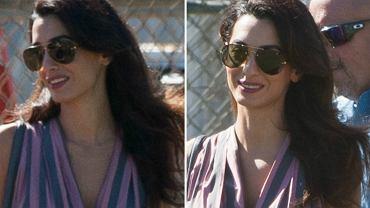 George Clooney w końcu zostanie ojcem? Plotki o ciąży jego żony pojawiają się w mediach z niemal regularną częstotliwością i nigdy nie okazują się prawdziwe. Jednak najnowsze zdjęcia Amal skłaniają dają do myślenia.