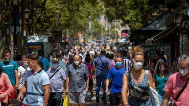 Ulice Barcelony, 16 lipca 2020