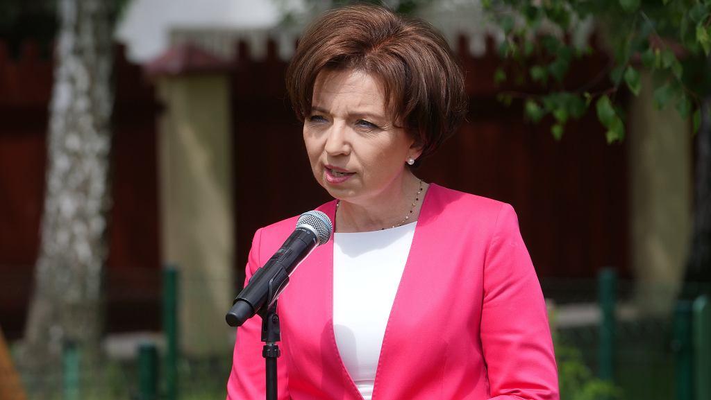 Ministra rodziny i polityki społecznej, Marlena Maląg