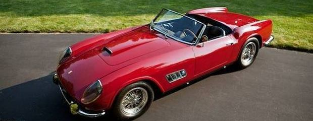 Ferrari 250 GT California LWB Competizione Spyder (fot. Gooding and Company)