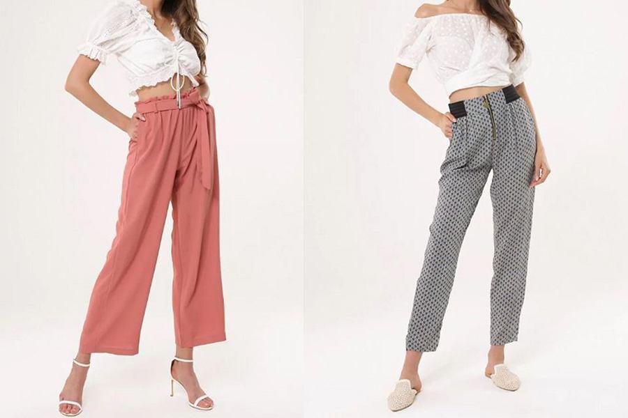 Klasyczne spodnie damskie