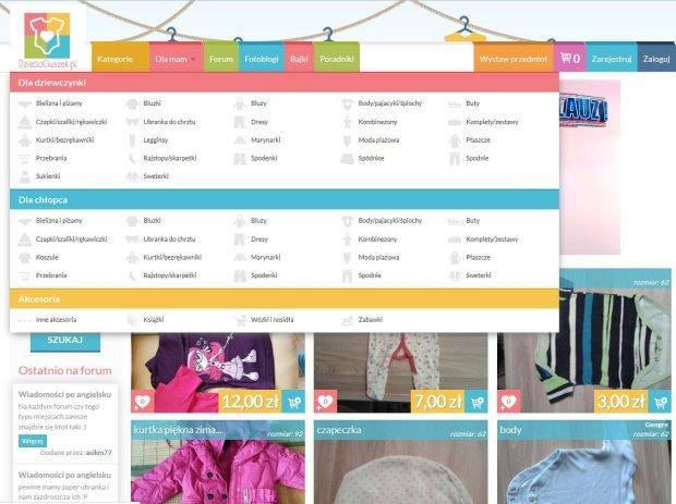 Testujemy platformę do kupowania używanych ubranek: Dzieciociuszek.pl