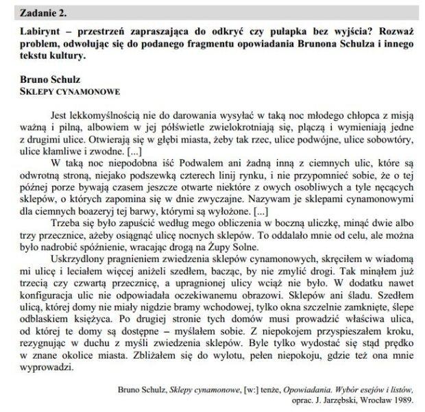 matura ustna polski pytania jezykowe