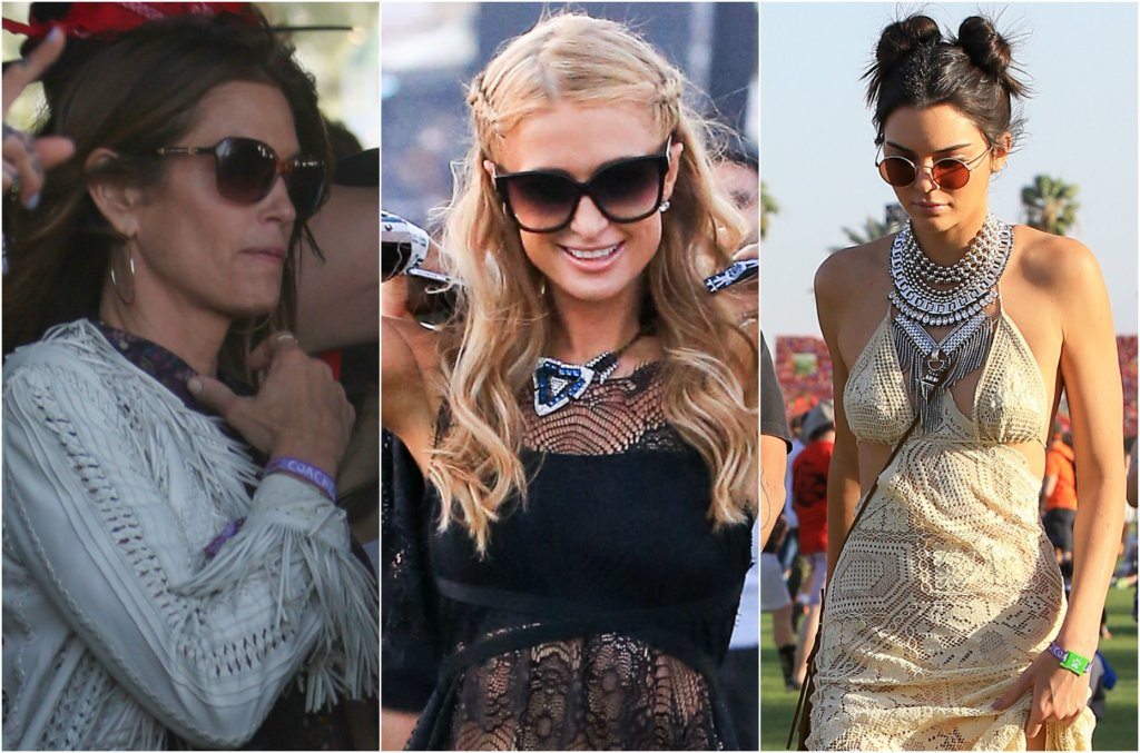 Właśnie rozpoczęła się Coachella, czyli jeden z najpopularniejszych festiwali w USA. Ta impreza to nie tylko coroczne święto muzyki, ale także doskonałe miejsce na pokaz festiwalowych stylizacji. Gwiazdy ściągają więc do Kalifornii i pokazują swoją drugą twarz - w końcu czy gdzieś indzie niż na piaskach Pustyni Colorado zobaczymy Paris Hilton z warkoczem na głowie i w sukience jak halka? Zobaczcie jak gwiazdy wyglądają na festiwalu.