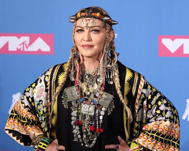 Madonna w  2018 roku.