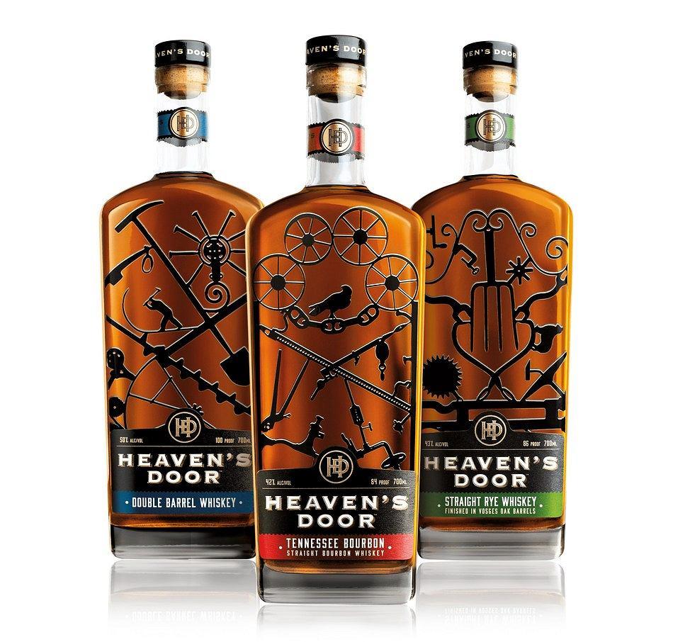 Heavens Door Spirits Three Bottles